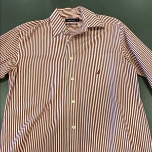 Red striped Nautica shirt